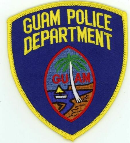 GUAM POLICE DEPARTMENT NEW PATCH SHERIFF STYLE 1 OF 2