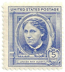 SC-862-5c-Louisa-May-American-Author-MNH