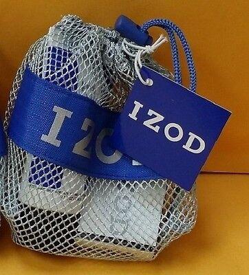Izod Cologne By Phillips Van Heusen 3 Pc Set Men 0 25 Oz Edt   After Shave   Bag