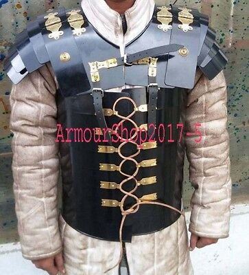 Best Body Armor Breast Plate Historical Reenactment Roman Lorica Segmentata