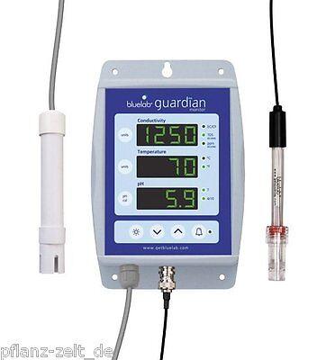 bluelab Guardian Monitor pH/EC-Monitor Grow Anzucht Steckling Messgerät 107481  Guardian Monitor