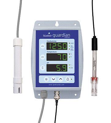 bluelab Guardian Monitor Dauermessgerät pH-Wert EC-Wert Temperatur Überwachung Guardian Monitor