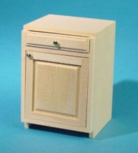 "Houseworks 1 inch scale Wood Kitchen Furniture Kit ( 2"" Base ) #HW13402"