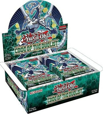 Yugioh Code of the Duelist 1st Edition Booster Box FREE SHIPPING SEALED BOX