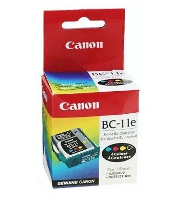 Cabezal de Impresión Canon BC-11 BC-11e Color Negro BJ-30 BJC-50 BJC-70 BJC-80 segunda mano  Embacar hacia Spain