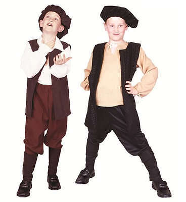 RENAISSANCE BOY COSTUME PEASANT MEDIEVAL CHILD SHAKESPEARE PLAY COSTUMES 90313 - Boys Renaissance Costumes