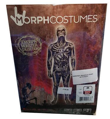 Halloween Kostüm MorphCostumes Skull & Bones Monster Größe M Erwachsene (161cm)