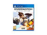Overwatch Origins edition Sony Playstation 4 BRAND NEW SEALED