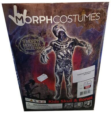 Halloween Kostüm MorphCostumes Skull & Bones Monster Kids Kinder L (Age 10-12 )