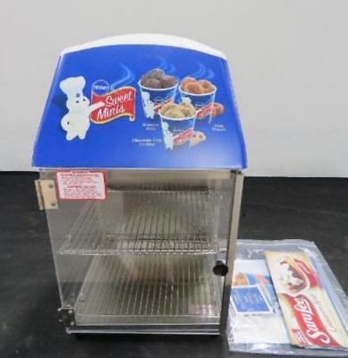 Wisco 737 Food Warmer Cabinet Case Food Oven Display Sandwich Pillsbury Doughboy
