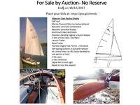 Albacore Class Sailing Dinghy For Sale by Auction- No Reserve!