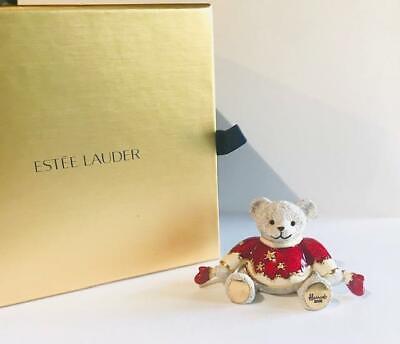 "2008 Estee Lauder/HARRODS Beautiful ""HARRODS HOLIDAY TEDDY BEAR"" Solid Perfume"
