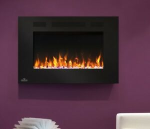 "Napoleons 32"" Allure wall mount fire place"
