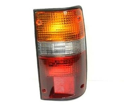 Rear tail Light lamp for Toyota Hilux Mk4 pickup lens offside right Clear//Red