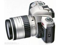 Pentax MZ-7 35mm Film SLR & Pentax FA 28-80mm f3.5/5.6 lens