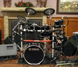 Mature Drummer-Percussionist-Drum Tech - With Backing-Vocals!! Belleville Belleville Area image 2