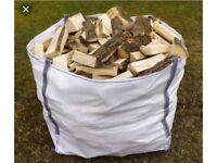 100% dry seasoned logs