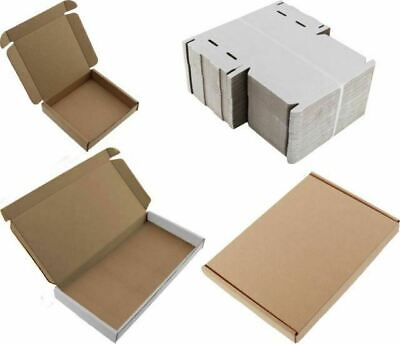 X50 A5 C5 Royal Mail Pip Carta Grande Cartón Caja Blanca 160x230X22mm
