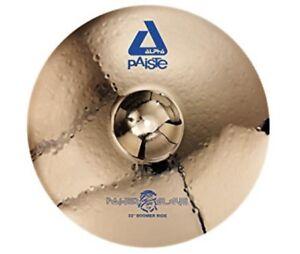 "Paiste 22"" Alpha Powerslave Boomer Ride Cymbal"