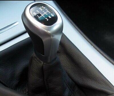 Pomo palanca cambio bmw E81, E82, E87, E88 Leather knob BMW 25110404454 M  segunda mano  Madrid