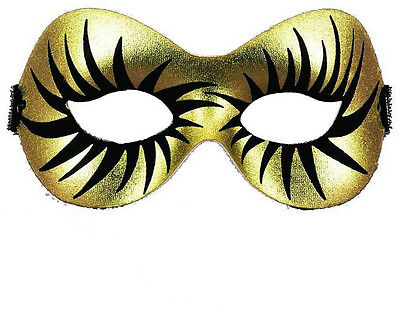 Gold and Black Maquillage Half Eye Mask (Black And Gold Masquerade Ball Masks)