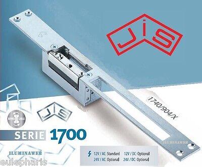 ABREPUERTAS 12v AC-DC 1730 sin desbloq manu Cierre electrico Portero electronico