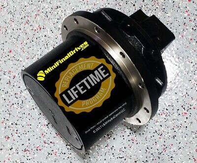 Melroe 225 Final Drive And Travel Motor For 9-bolt Sprocket With 7.5 Hub Hole