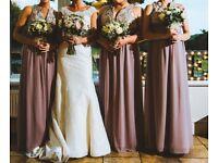 Bridesmaid Dresses Embellished Blush 5 available size 8 8 10 14 16