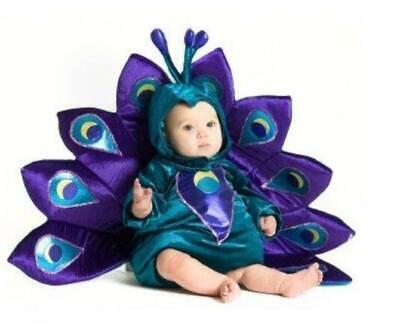BABY PEACOCK Costume ~ Infant Toddler ~   M Medium 12m -18m ~  NEW - Peacock Costume Child