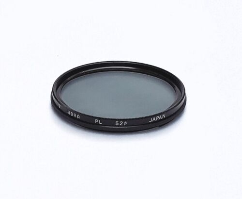 Beautiful Japanese Made Hoya 52mm Polarizing Filter with Case, Mint- Condition