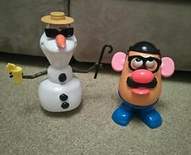 Mr Potato Head and Olaf Children's Toys / Kids Fun Toys