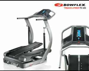 EUC BOWFLEX TreadClimber TC20 w/ Accessories - $1,000