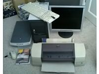 PC & 19in Philips LCD Monitor & EPSON Colour Inkjet Printer & Cartridges & EPSON Scanner CAN DELIVER