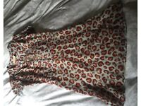 Adriana Degreas silk dress UK8