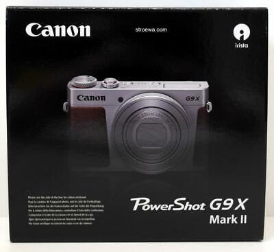 Canon PowerShot G9 X Mark II schwarz digitale Kompaktkamera