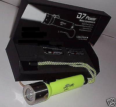 Led Lenser die FROGMAN D7 - Power Tauchlampe Zweibrüder
