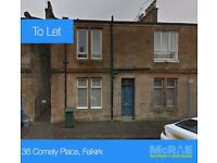 GOOD TENANTS WANTED FOR 1 BED FLAT, 36 COMELY PLACE, FALKIRK, FK1 1QG
