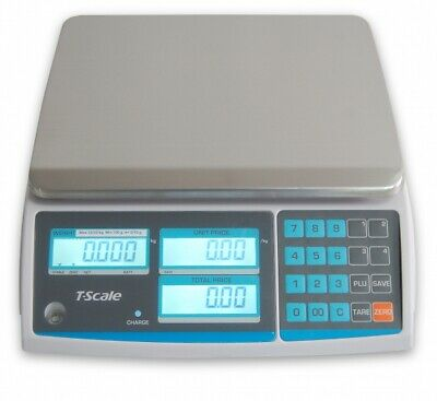 Price Computing By T-scale. Class Iii Legal For Trade Ntep Approved. 30lbs Scale