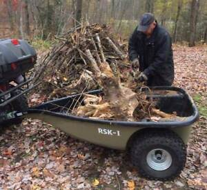 Best ATV Trailer For Hunting in the world built In Canada! RSK-I are In Stock and ready for you!
