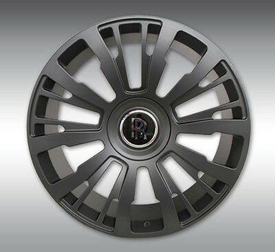 SPOFEC SP1 Matte Titanium Wheels with Tires - Rolls Royce Ghost / Wraith / Dawn