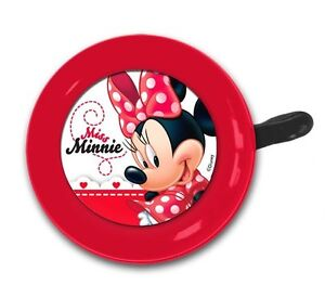 KIDS BOYS GIRLS DISNEX MC QUEEN PRINCESS MINNIE MICKEY WINNIE BIKE BELL HORNS