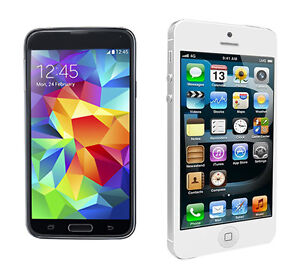 iPhone 5 vs. Samsung Galaxy S5