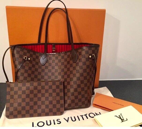 c2e5f4669230 Louis Vuitton Neverfull MM Damier Canvas
