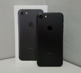 📱📱 iPHONE 7 128GB, BLACK, WITH SHOP RECEIPT & WARRANTY, GRADE A, EXCELLENT CONDITION , UNLOCKED