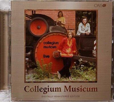 Collegium Musicum Live Czech Prog Cd Remaster