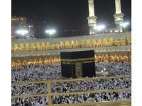 Umrah seats in Christmas Holidays