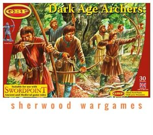 28mm Dark Age Archers, Gripping Beast Plastics, Swordpoint, Ancients, Saga