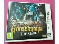 3ds game goosebumps