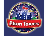 Alton Towers 1st August X 2