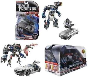 TRANSFORMERS DOTM HUMAN ALLIANCE & DELUXE SPECIAL SET MERCEDES SLS AMG SOUNDWAVE